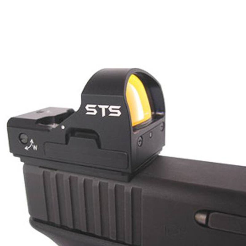 C-More Systems STS Series GLOCK 17/19/22/23/25/26/27/28/31/32/33/34/35 Dovetail Mount Aluminum Matte Black