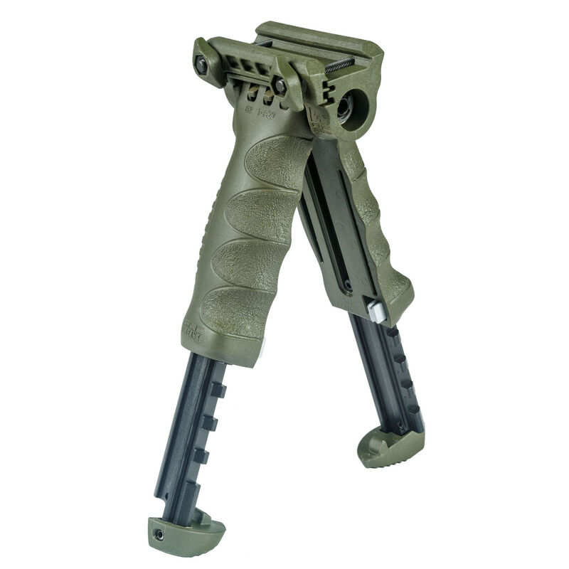 FAB Defense Quick Release T-POD Generation 2 Picatinny Rail Mount Aluminum and Polymer OD Green