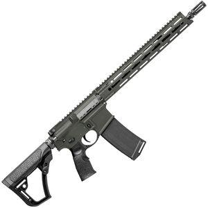 "Daniel Defense DDM4v7 SLW AR-15 Semi Auto Rifle 5.56 NATO 16"" Barrel 32 Rounds M-LOK Handguard Collapsible Stock DD Deep Woods Finish"