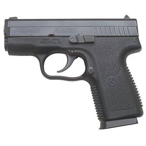 "Kahr Arms PM45 Semi Automatic Handgun, .45 ACP, 3.14"" Barrel, 5 Rounds, Night Sights, Polymer Frame, Matte Black Stainless Steel Slide"