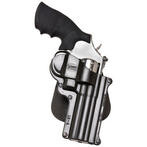 Fobus Holster S&W K/L Frame Revolvers/Taurus 65.66 Right Hand Paddle Attachment Polymer Black
