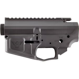 Wilson Combat AR-15 Matched Billet Upper/Lower Receiver Set Aluminum Black Armor-Tuff TR-LOWUPP-BIL