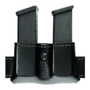 Safariland 079 Open Top Double Magazine Pouch Fits GLOCK  17/19/26 Hardshell STX Plain Black