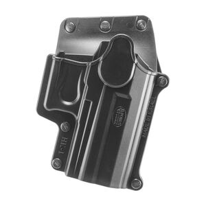 Fobus Holster Ruger H&K USP/Ruger SR9/S&W SW9/Walther PPS M2 Right Hand Belt Attachment Polymer Black
