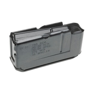 Remington Model Four/74/740/742/7400/750 Detachable Box Magazine Long Action Calibers 4 Rounds Steel Blued