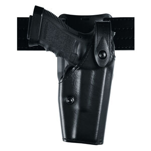 Safariland Model GLOCK 36 Low Ride SLS Level II Duty Holster Left Hand STX Tactical Black 6285-283-132