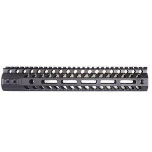 "2A Armament AR-15 Aethon Rail 10"" M-LOK Compatible Free Float Hand Guard 6061 Extrusion Aluminum Hard Coat Anodized Matte Black"