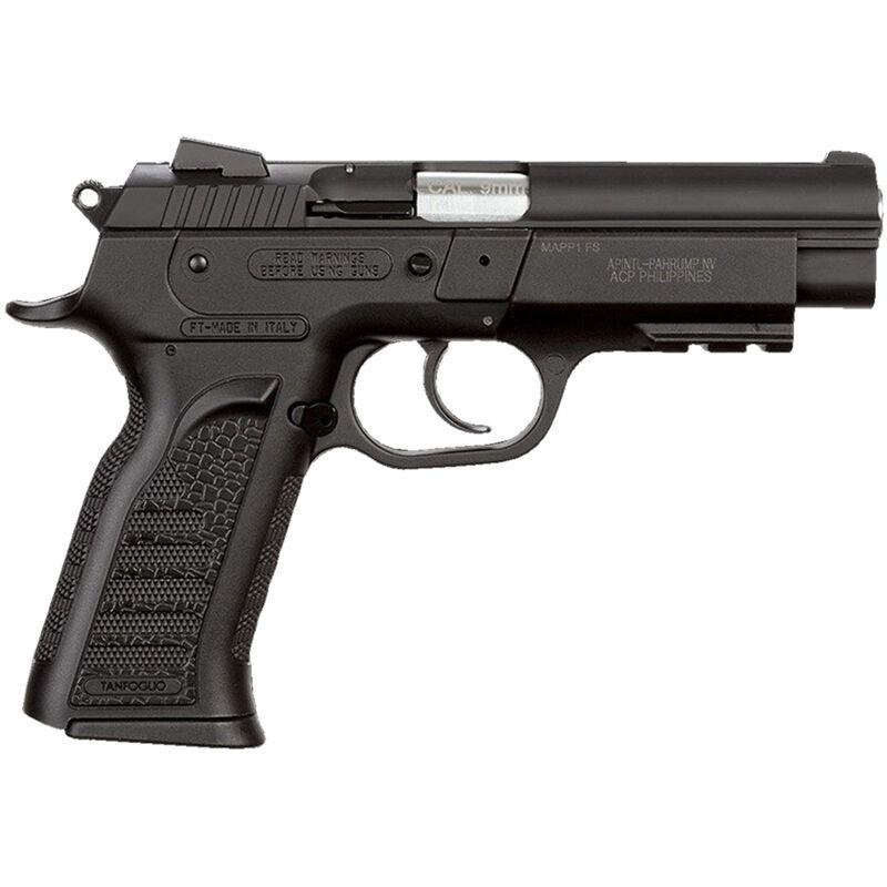 "Rock Island Armory MAPP FS Semi Auto Pistol 9mm Luger 4.4"" Barrel 10 Rounds Fixed Front Sight/Snag-Free Rear Sight Polymer Grip Frame Steel Slide Matte Black"