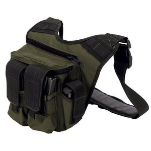 "US PeaceKeeper RDP Rapid Deployment Pack OD Green, 12"" x 10"" x 3"""