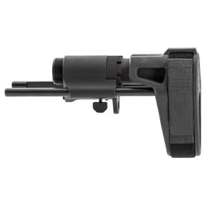 Maxim Defense CQB Pistol PDW Brace Slick Side No QD for AR-15 Pistols Matte Black