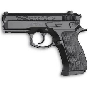"CZ P-01 Semi Auto Handgun 9mm 3.75"" Barrel 14 Rounds Rubber Grips Black Polycoat Finish Decocker 91199"