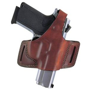 Bianchi #5 Black Widow Holster SZ21A Ruger LCP .380 Right Hand Plain Tan Leather