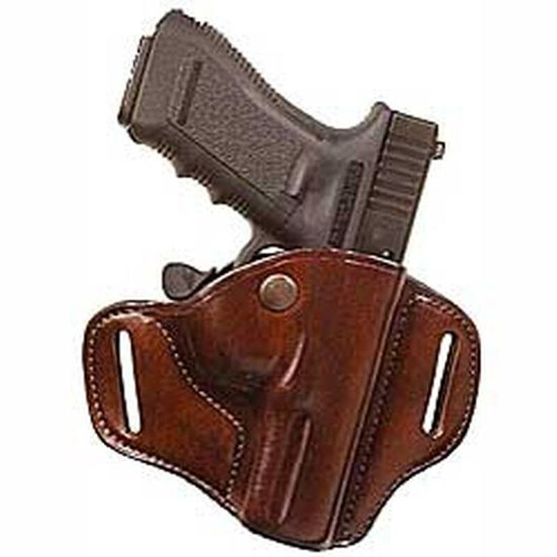 Bianchi #82 CarryLok Hip Holster Glock 19 23 and 36 Size 11 Right Hand Leather Tan