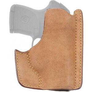 Galco Front Pocket Holster GLOCK 26/27/33 Ambidextrous Leather Natural