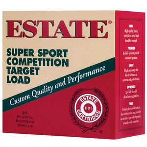 "Estate SuperSport 28 ga 2-3/4"" #9 Shot 3/4 oz 250 Rnd Case"