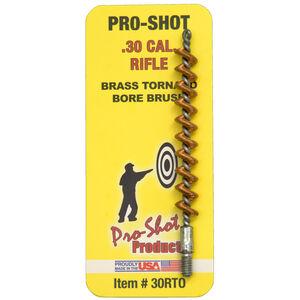 Pro-Shot .30 Cal Rifle Tornado Bronze Bore Brush