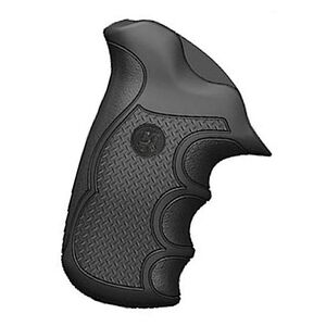 Pachmayr Diamond Pro Grips Taurus Public Defender Compact Polymer Rubber Black 02475