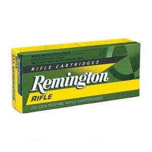 Remington .22-250 Remington Ammunition 20 Rounds PSP 55 Grains