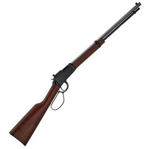 "Henry Small Game Lever Action Rifle .22 WMR 20.5"" Octagonal Barrel 12 Rounds Peep Sight Walnut Stock Blued H001TMRP"