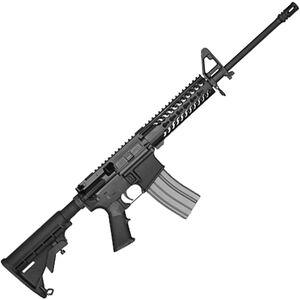 "Del-Ton Echo 316L Keymod 5.56 NATO AR-15 Semi Auto Rifle 16"" Barrel 30 Rounds Samson Evolution Freefloat Handguard Collapsible Stock Black"