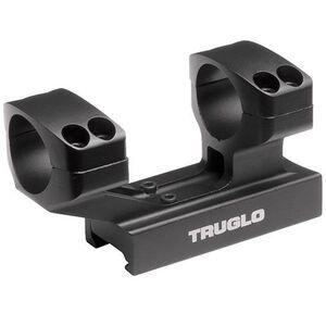 "TRUGLO Tactical Scope Mount 1"" Picatinny Mount Aluminum Black TG8963B"