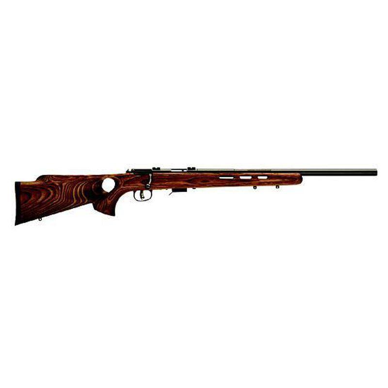 "Savage Model Mark II BTV Bolt-Action Rimfire Rifle .22 Long Rifle 21"" Barrel 5 Rounds Brown Laminate Thumbhole Stock Blued Steel Bolt and Barrel"