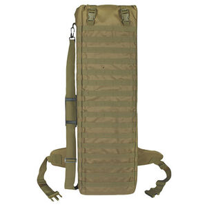 """Fox Outdoor Advanced 36"""" Assault Weapons Case Nylon Coyote 58-558"""