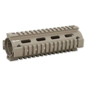 "Firefield AR-15 Drop-In Quad Rail Handguard 6.7"" Carbine Length Aluminum Flat Dark Earth FF34001DE"