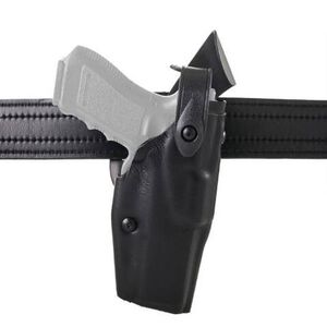 Safariland 6360 ALS/SLS Level 3 Retention Duty Holster For GLOCK 17/22 With Light Right Hand SafariLaminate Plain Black 6360-832-411