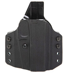 Uncle Mike's CCW Holster fits S&W M&P Shield 2.0 9/40 OWB Right Hand Polymer Black