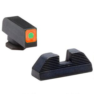 AmeriGlo Tritium CAP Sight Set Spaulding For GLOCK 42/43, Steel