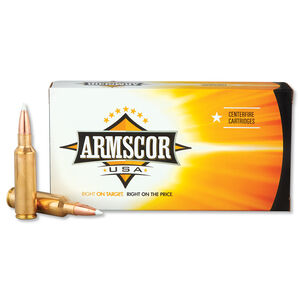 Armscor USA .300 WSM Ammunition 20 Rounds PT 165 Grain