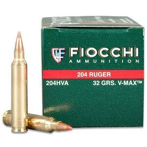 Fiocchi Extrema .204 Ruger 50 Round 32 Grain V-Max Box 4125