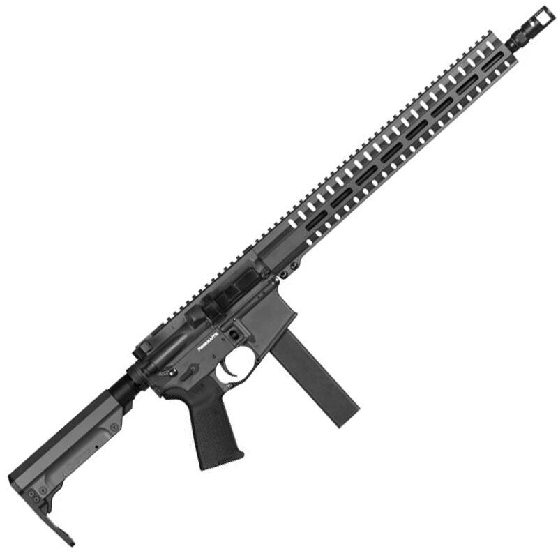 "CMMG Resolute 300 Mk9 Series 9mm Luger AR15 Style Semi Auto Rifle 16"" Barrel 32 Rounds CMMG RML15 M-LOK Hand Guard Cerakote Sniper Grey"