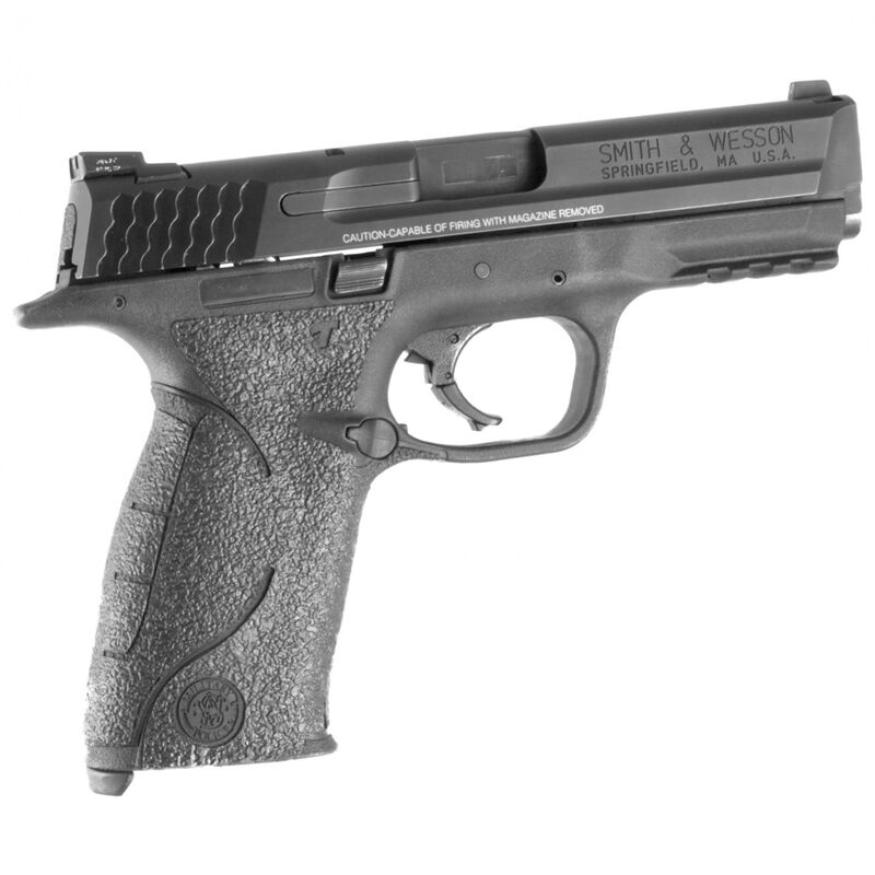 TALON Grips Adhesive Grip S&W M&P Full Size 9/40 With Small Backstrap  Rubber Black 703R