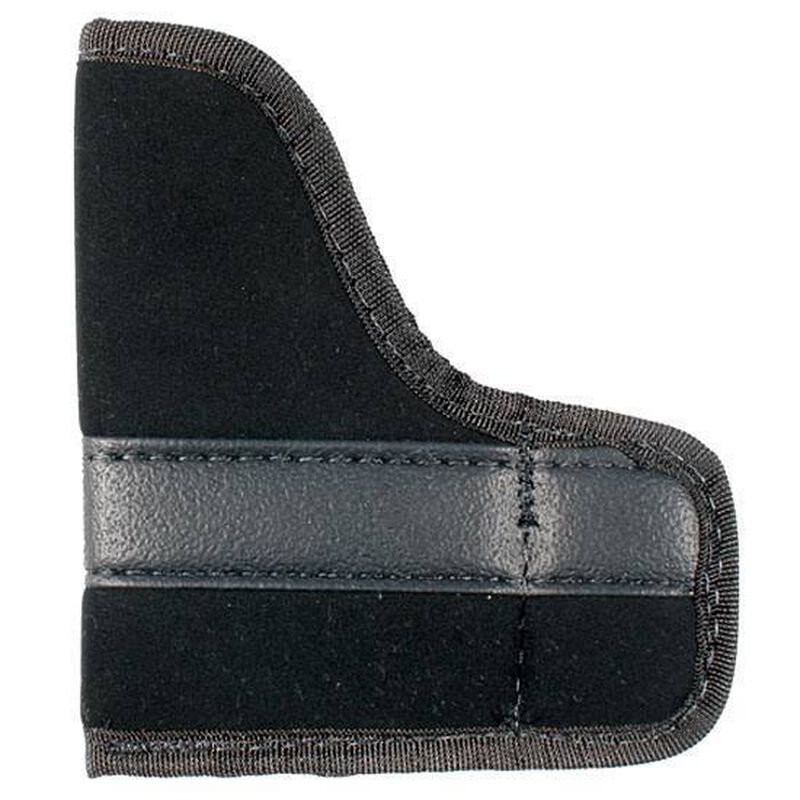 Uncle Mike's Ambidextrous Inside-the-Pocket Holster Small-Frame Autos .22 to .25 Caliber Size 1 Polymer Suede Black