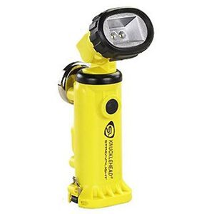 Streamlight Knucklehead C4 LED Flashlight 200 Lumen Rechargeable Battery AC Charger Click Switch High Impact Polymer Body Yellow 90622