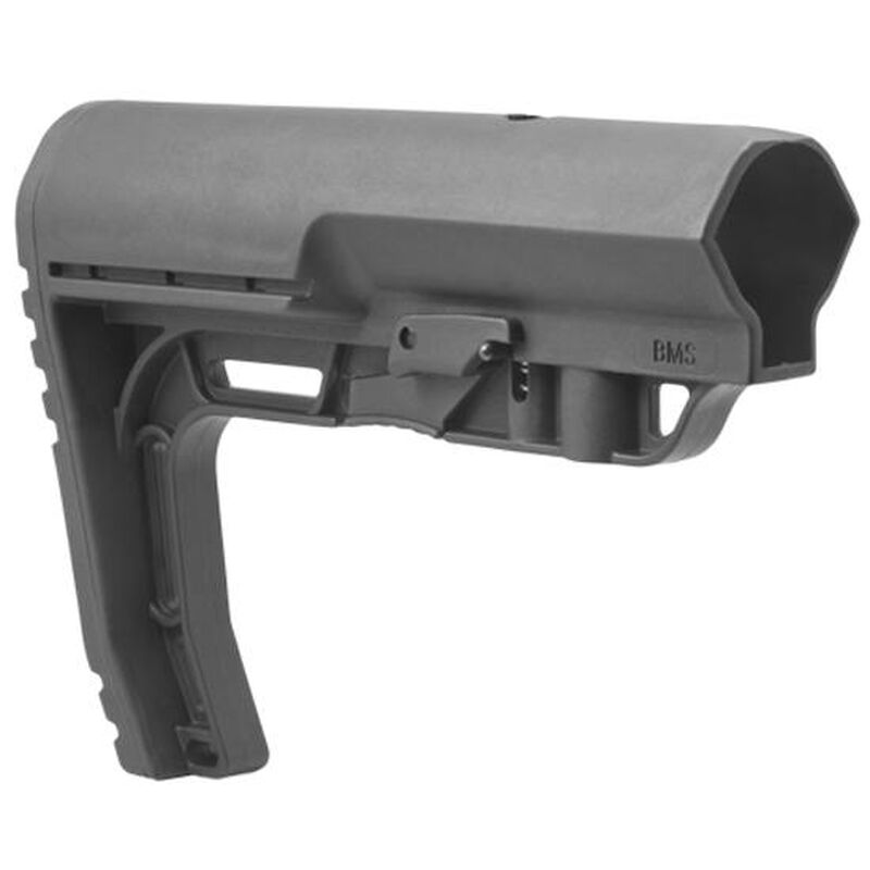 Mission First Tactical Battlelink Minimalist AR-15 Commercial Stock Polymer Black Finish BMS