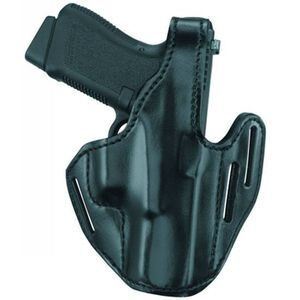 Gould & Goodrich Three-Slot Pancake Holster Right Hand GLOCK 17, 22, 31 Black B733-G17
