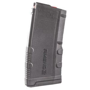 Amend2 Mod-2 AR-15 20 Round Magazine .223 Remington/5.56 NATO Anti-tilt Super Follower Stainless Steel Spring Polymer Gray