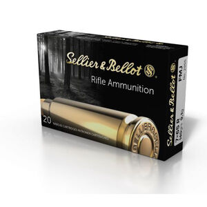Sellier & Bellot 7x65R Ammunition 20 Rounds FMJ 140 Grain V331252U