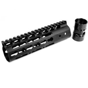 "Noveske AR-15 NSR Free Float KeyMod Rail 7"" Continuous Picatinny Top Rail Aluminum Matte Black"