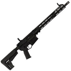"Adams Arms P2 Semi Auto Rifle .308 Winchester 16"" Barrel No Magazine Adjustable Gas Block Free Float Hand Guard Collapsible Stock Matte Black Finish"