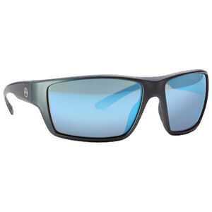 Magpul Terrain Eyewear Rose/Blue Mirror Polycarbonate Lens Z87+ and MIL-PRF 32432 Rated TR90NZZ Frame Gray