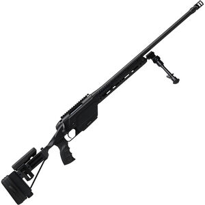 "Steyr SSG 08 Bolt Action Rifle .338 Lapua Magnum 27.2"" Barrel 6 Round Magazine Integral Picatinny Rail Hard Eloxal-Coated Aircraft Aluminum Stock Mannox Finish Matte Black"