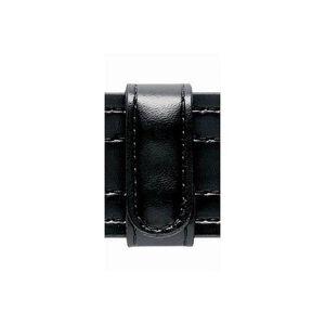 "Safariland Model 62 Belt Keeper 2.25"" Duty Belt Hidden Snaps Basket Weave Black"