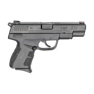 """Springfield Armory XDE 9mm Luger Semi Auto Pistol 4.5"""" Barrel 9 Rounds Polymer Frame Black"""