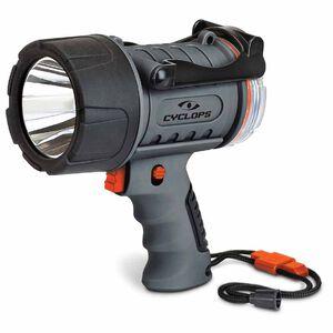 Cyclops Waterproof LED Spotlight with Emergency Whistle