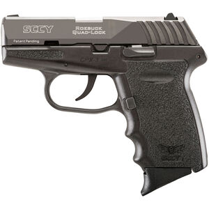 """SCCY CPX-3 .380 ACP Semi Auto Pistol 2.96"""" Barrel 10 Rounds No Safety Black Polymer Frame with Black Finish"""