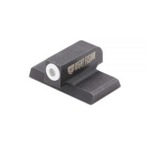 Night Fision Perfect Dot Tritium Night Sight HK VP/HK45/P30 White Front Ring Black Housing